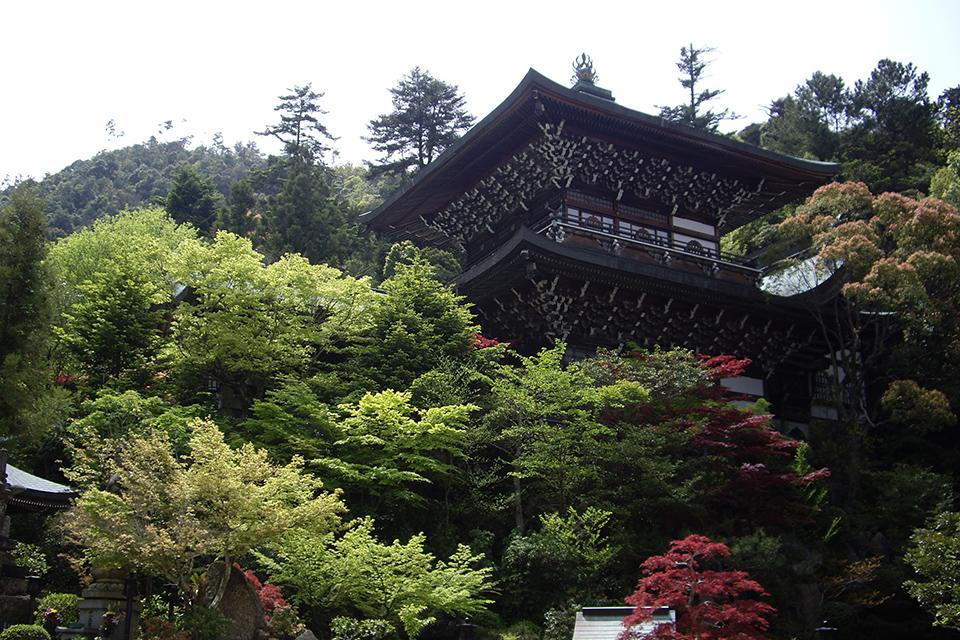 宮島最古のお寺大聖院